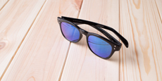 Neon - P2249 Shiny Black (Mirrored Polarized)