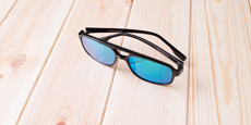 Neon - P2395 - Black (Mirrored Polarized)
