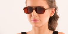 Savannah - P2395 - Demi Havana (Sunglasses)