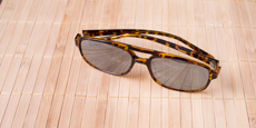 Neon - P2395 - Demi Havana (Mirrored Polarized)