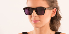 Savannah - P2429 - Black (Sunglasses)