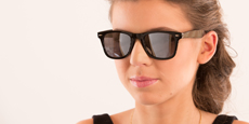 Neon - P2429 - Black (Mirrored Polarized)
