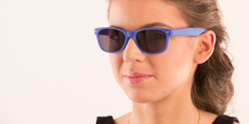 Helium - S8122 - Dark Blue (Sunglasses)
