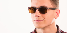 Helium - S8122 - Brown (Sunglasses)