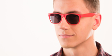 Helium - S8122 - Red (Sunglasses)