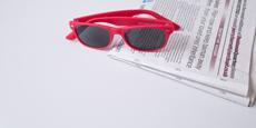 Helium - S8122 - Red (Sunglasses)