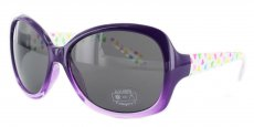 C05 Purple with Hearts on Transparent Arms