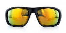 Matte Black + Revo Red Lens