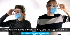 Optical accessories - 20pk Face Masks + Safety Goggles