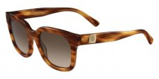 256 STRIPED COGNAC