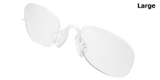 a714 (Large) Flexible Rimless RX Insert - Large