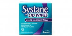 Liquids & Solutions - Alcon 10ml Systane LID WIPES Eyelid Cleansing Wipes