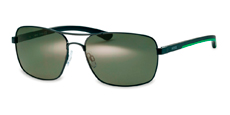 201 black (green polarized)