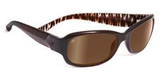 7624 BRONZE ZEBRA, POLARIZED DRIVER GOLD MIRROR