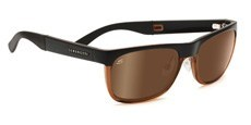 7643 SATIN BROWN/SHINY COGNAC, POLARIZED DRIVER GOLD MIRROR