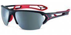 CBSTL15 MATT BLACK RED Zone Polarized Grey Cat.3 Silver AF + Zone Clear Cat.0 AF