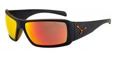 CBUTOPY3 Matt Black Orange/1500 Grey Orange Flash Mirror