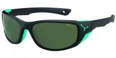 CBJOM3 Matt Black Turquoise/1500 Grey Polarized AF Flash Mirror Cat. 3