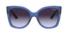 28304Q TRANSPARENT BLUE/light violet gradient dark gre