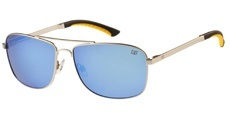 002P Matte silver / Icy blue revo - Polarised