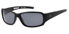 104P Matte black / Solid smoke/silver flash mirror - Polarised