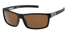 104P Matte black / Solid brown - Polarised