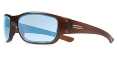 02BL Matte Brown/Blue Water