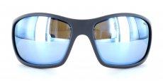 00BL Matte Graphite w/ Blue Lens