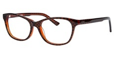 8606 Deep Orange with Brown Check