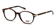 052 Shiny dark havana, rubber effect brown temples, shiny rose gold