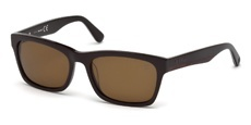 48H shiny dark brown / brown polarized