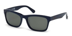 90D shiny blue / smoke polarized