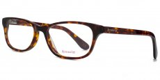 TRT Glam rectangle in classic tortoiseshell with purple eartips