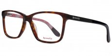 TOR Classic tortoiseshell with solid black temples and purple eartips