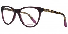 PUR Aubergine with tortoiseshell temples and purple eartips