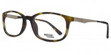 TOR Classic rectangle in tortoiseshell with light gold temples and demi eartips