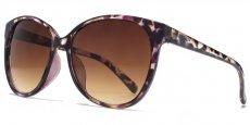 AFS012 Brown demi and purple. Brown grad lenses