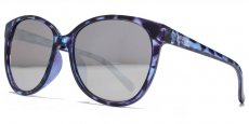 AFS013 Crystal blue and purple. Silver flash lenses