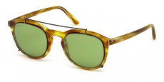55N coloured havana / green