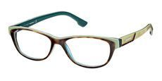 056 Havana/light green/transparent dark green blue