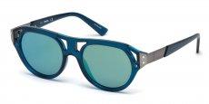 90X shiny blue / blu mirror