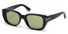 01N shiny black / green