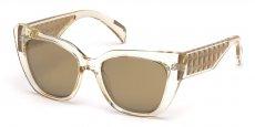 57G shiny beige / brown mirror