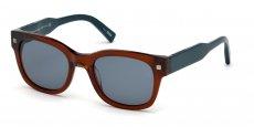 50V dark brown/other / blue
