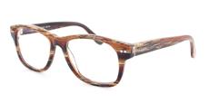 07 Brown Pattern Wayfarer Style