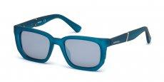 91C matte blue / smoke mirror