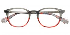 6151 TWO-TONES GREY - RED HORN