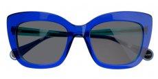 2284 Bi-colored blue turquoise