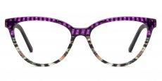 C6 Purple Pattern w/ Multicolour Tortoise
