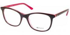 AB 1725B Dark Brown/Light Pink/Crystal Pink